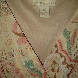 Jonathan Martin long summer dress size16